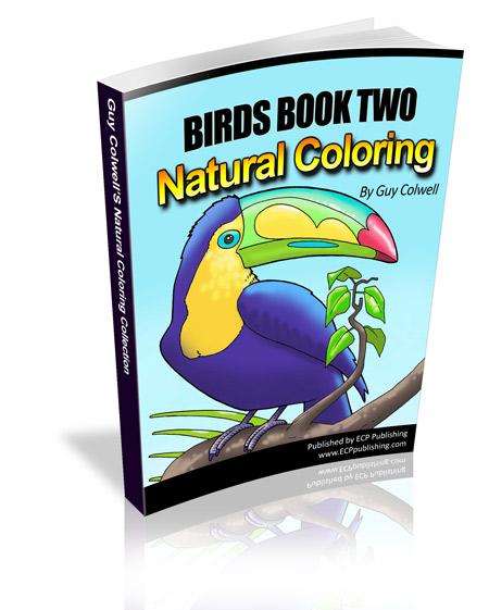 birds colouring book, birds coloring book, natural colouring