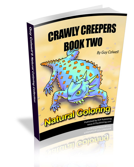 Crawly Creepers Colouring Book Two