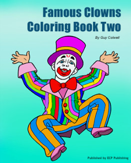 clowns coloring book two