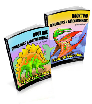 Dinosauring Color Books